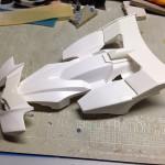 フルカウルミニ四駆で、空力マシンを目指す。その2。